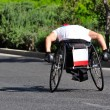 Stock Photo: Wheelchair Racing