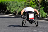 Wheelchair Racing — Stock Photo