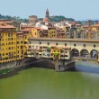 Vecchio Bridge, Florence , Italy - Stock Photo