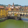 Vecchio Bridge, Florence , Italy — Stock Photo