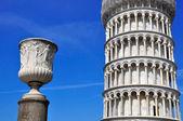 Torre inclinada de pisa, itália — Foto Stock