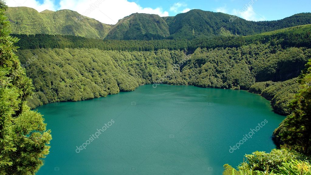 Santiago Lagoon, in Sao Miguel Island, Azores, Portugal   Stock Photo #7105935