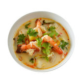 Thai Food Tom Yum Goong — Stock Photo