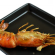 Stock Photo: Grilled prawns