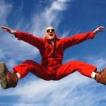 Highjumper - Hochspringer — Stock Photo #7172754