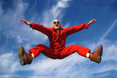 Highjumper - Hochspringer — Stock Photo