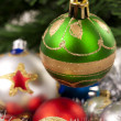 Christmas Decoration.Green - Stock Photo