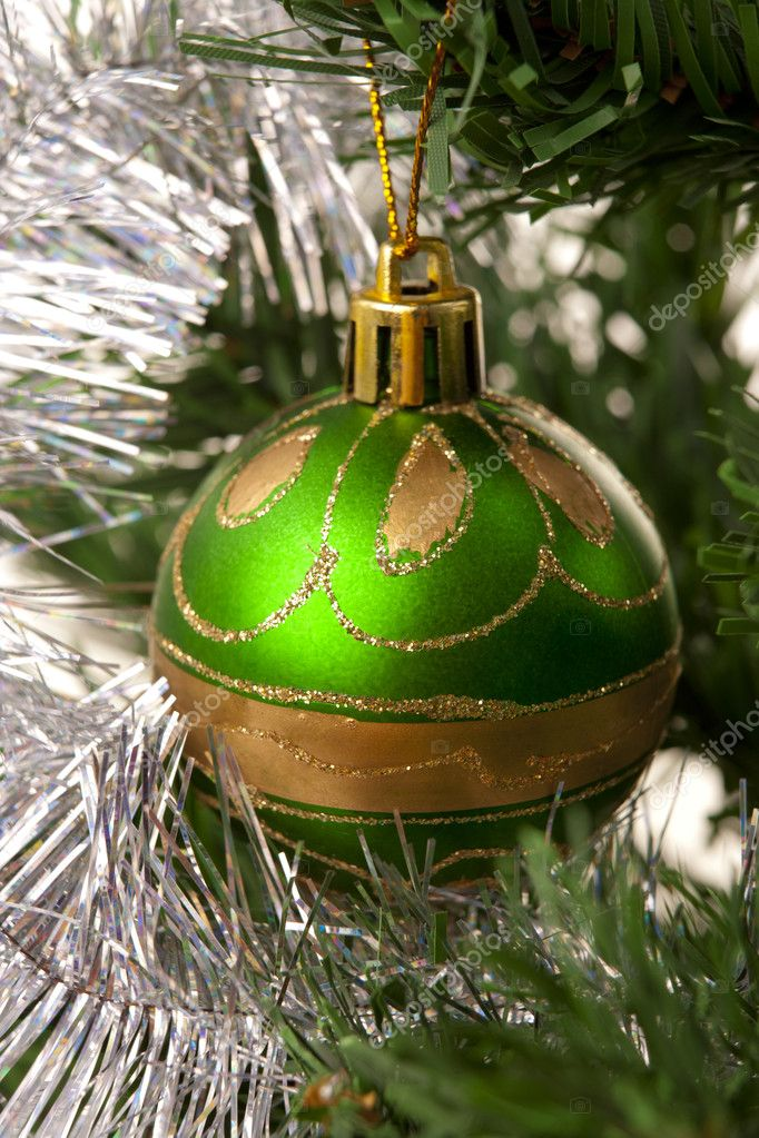 Christmas Decoration.Green  Foto Stock #7542817