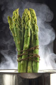 Cooked asparagus — Stock Photo