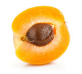 Part of the fruits of apricot — Stock Photo