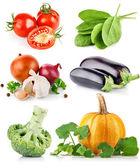 La valeur des légumes frais avec feuille verte — Photo