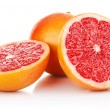 Fresh fruits grapefruit in cut — Stock Photo