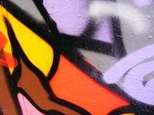 Expression graffiti — Stock Photo