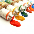 Stock Photo: Assorted paints