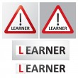 Stock Vector: LEARNER