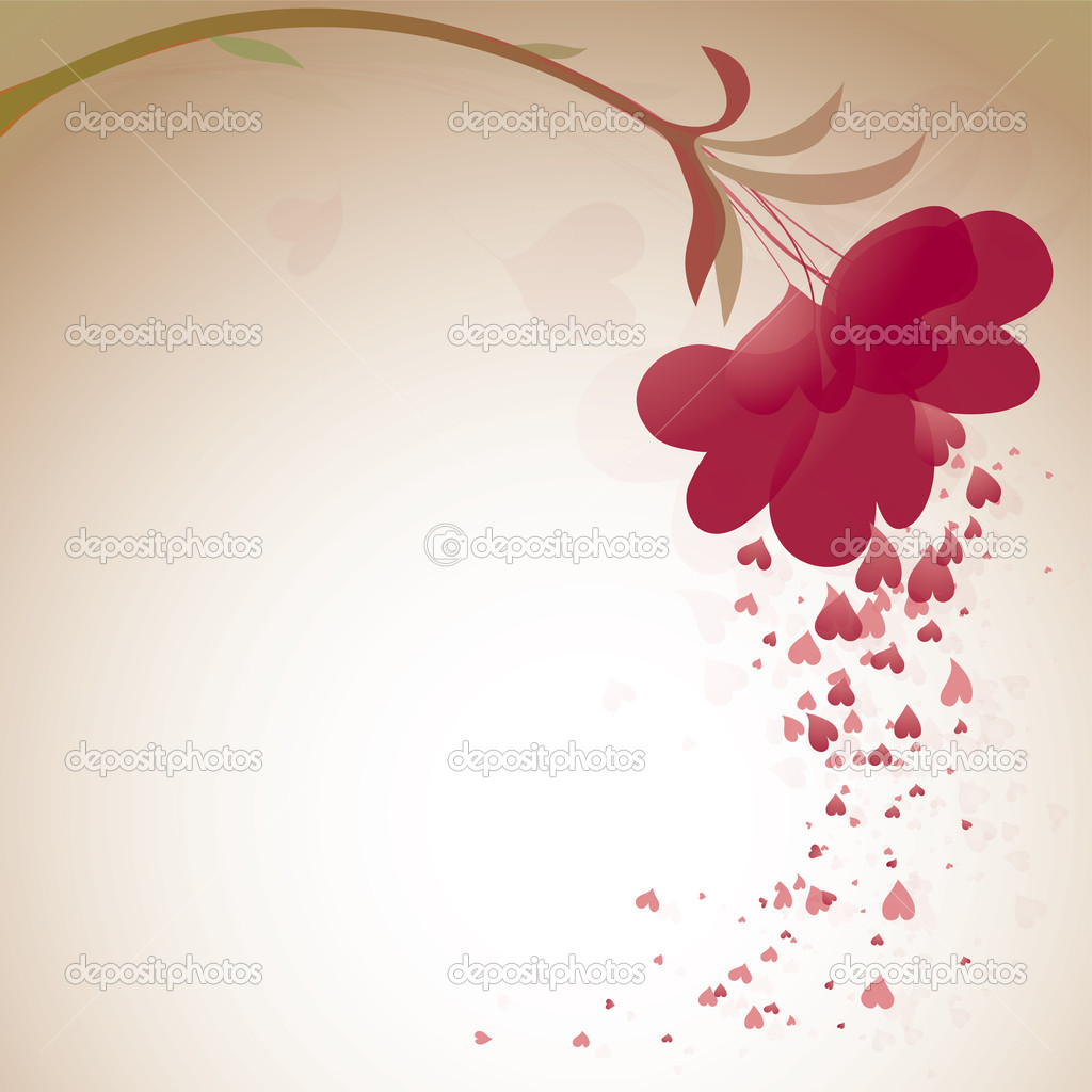 Romantic heart background  — Stock Vector #6775096