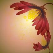 Abstrato flor de natal — Vetorial Stock