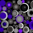 Royalty-Free Stock Imagen vectorial: Retro Circles