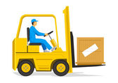 Forklift — Vecteur