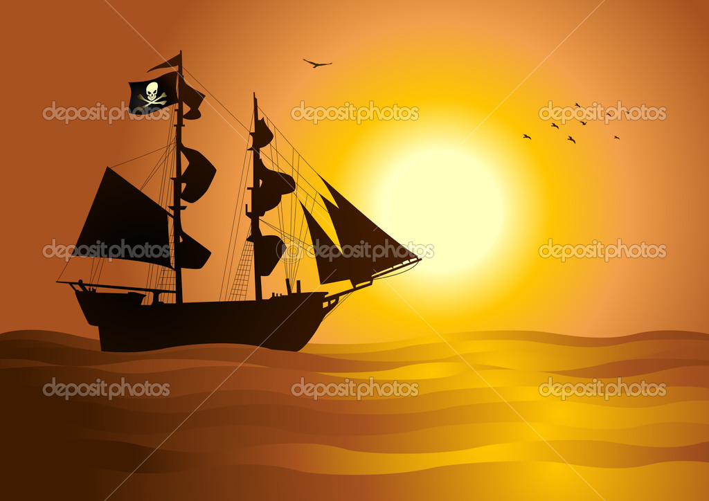 Pirate Ship Symbol of a Pirate Ship at The