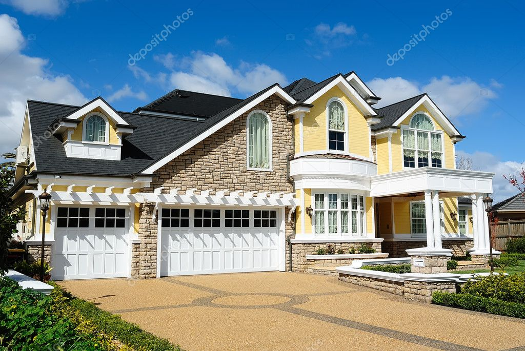 Elegant house design stock photo bolina 6958131 Elegant farmhouse plans