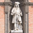 Statue in Royal Palace, Naples, Italy — Stock Photo #6749208