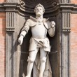 Statue in Royal Palace, Naples, Italy — Stock Photo #6749210