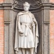 Statue in Royal Palace, Naples, Italy — Stock Photo
