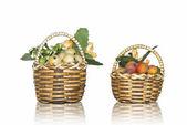 Fruits baskets — Stock Photo
