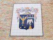 中世纪的徽章 — 图库照片