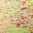 Stock Photo: Edinburgh map