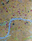London map — Stock Photo