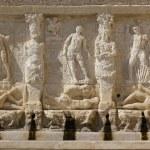Greek fountain — Stock Photo