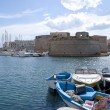 Stock Photo: Castle of Gallipoli, Italy