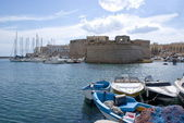 Castle of Gallipoli, Italy — Stock Photo