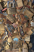 Padlocks and love — Stock Photo