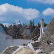 View of Alberobello, Italy - Stock Photo
