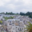View of Alberobello in Apulia, Italy — Stock Photo