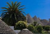 Trulli in Alberobello, Apulia (Italy) — Foto Stock