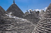 Trulli in Alberobello, Apulia (Italy) — Stock Photo