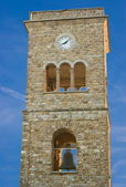 Campanile of the Basilica, Castellabate, Italy, Europe — Stock Photo