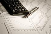 Planering affärsstrategi — Stockfoto