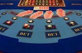 Schede prima del gioco del poker — Foto Stock