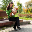 Happy mother with child — Stock Photo #7236546