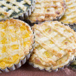 Vegeterian pie — Stock Photo