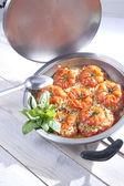 помидоры, фаршированные рисом — Стоковое фото