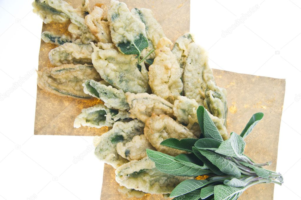 Fried sage — Stock Photo #6923612