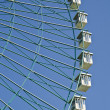 Ferris wheel on blue sky — Stock Photo #6953716