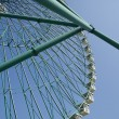 Ferris wheel on blue sky — Stock Photo #6953785