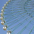 Ferris wheel on blue sky — Stock Photo #6953870